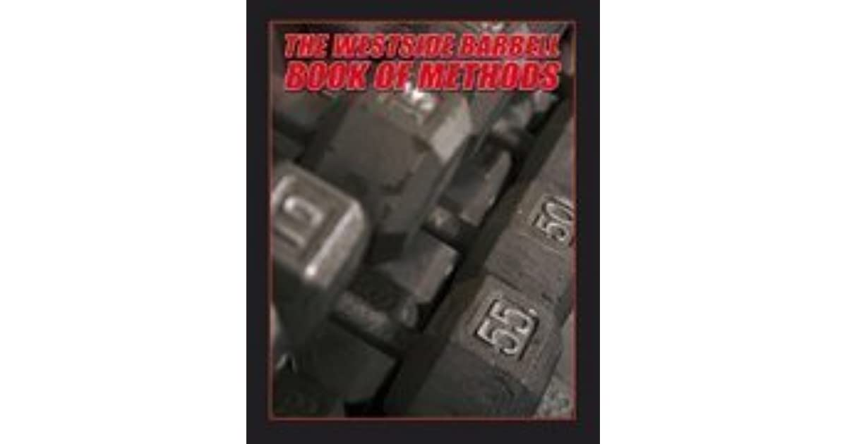 westside barbell book of methods review