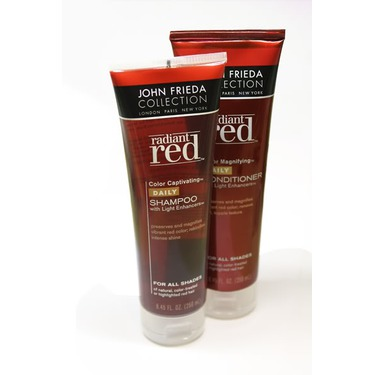 john frieda red shampoo review