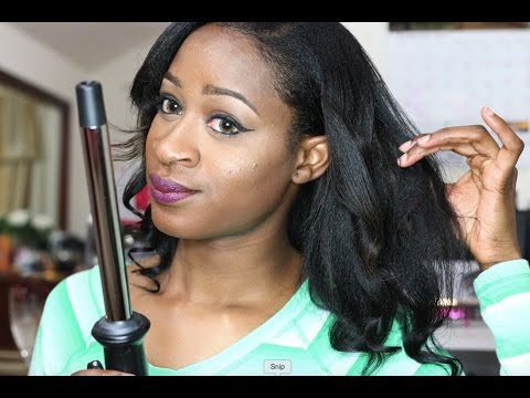 luv hair curling wand reviews