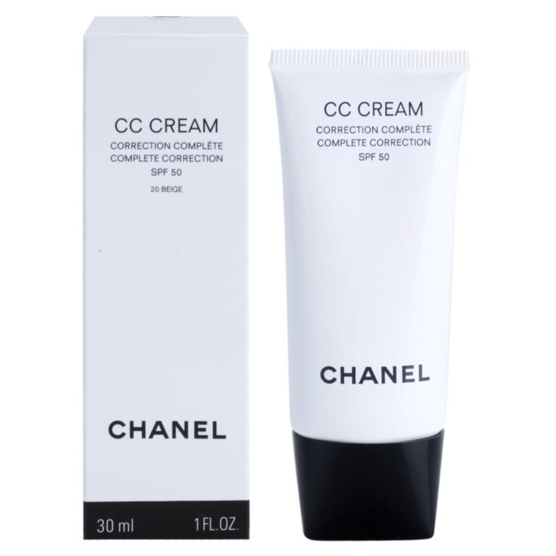chanel cc cream spf 50 review