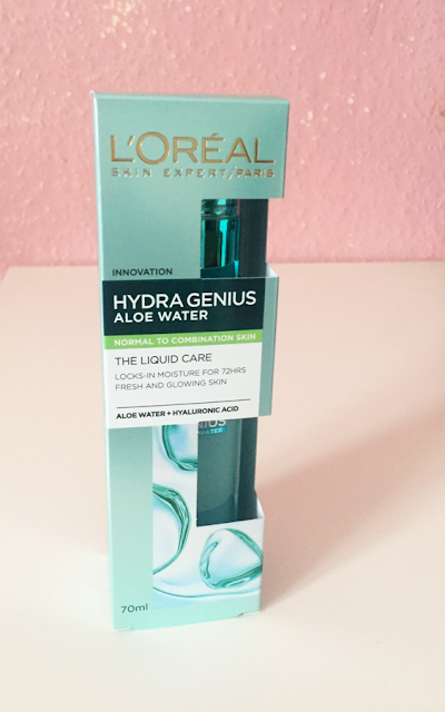 l oreal hydra genius aloe water review
