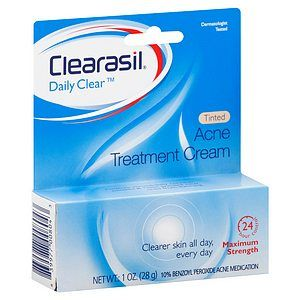 clearasil daily clear acne treatment cream review