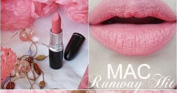 mac runway hit lipstick review