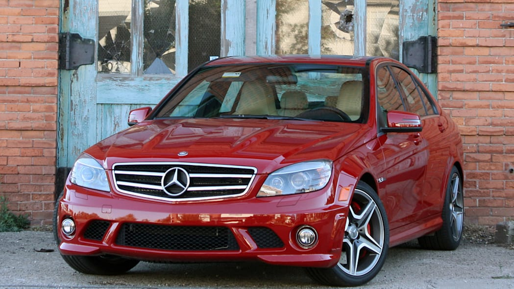 2010 mercedes benz c63 amg review