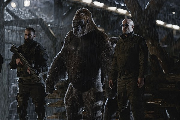 war of the planet of the apes review