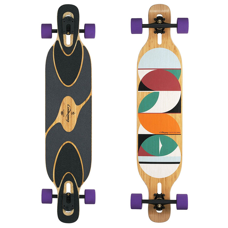 loaded dervish sama longboard review