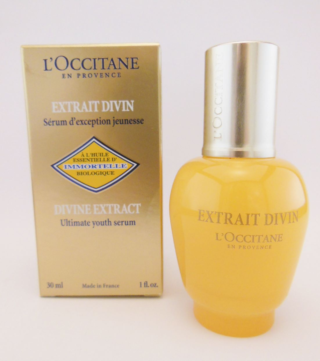 l occitane immortelle divine eyes review