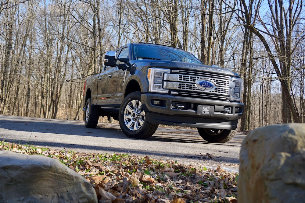 2017 ford f 250 platinum review