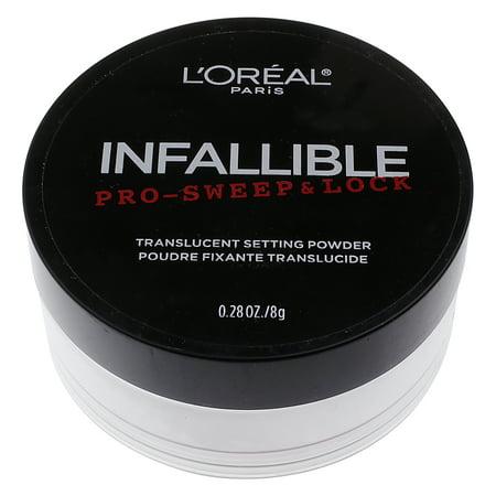 loreal loose powder translucent review