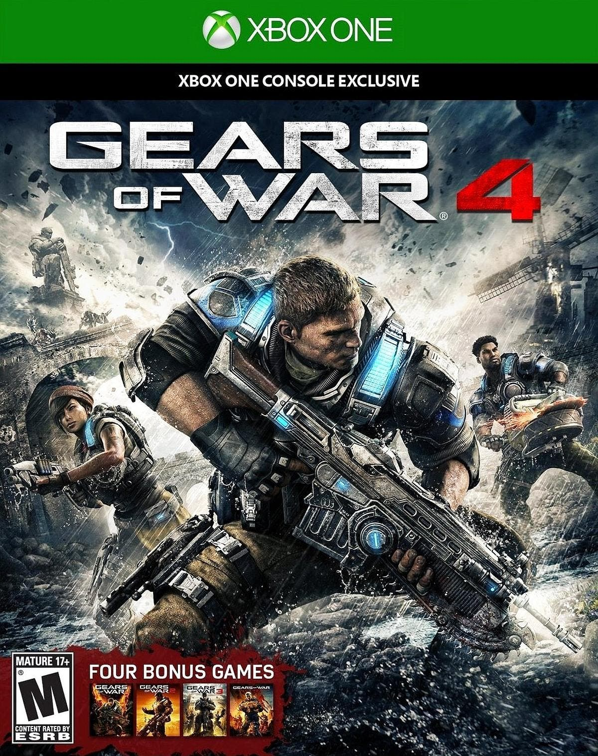 ign gears of war 4 review
