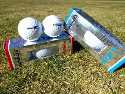 pinnacle rush golf balls review