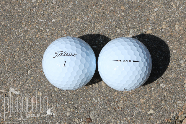 titleist avx golf ball review