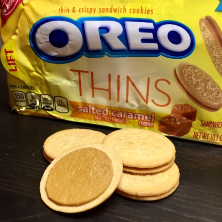 salted caramel oreo thins review