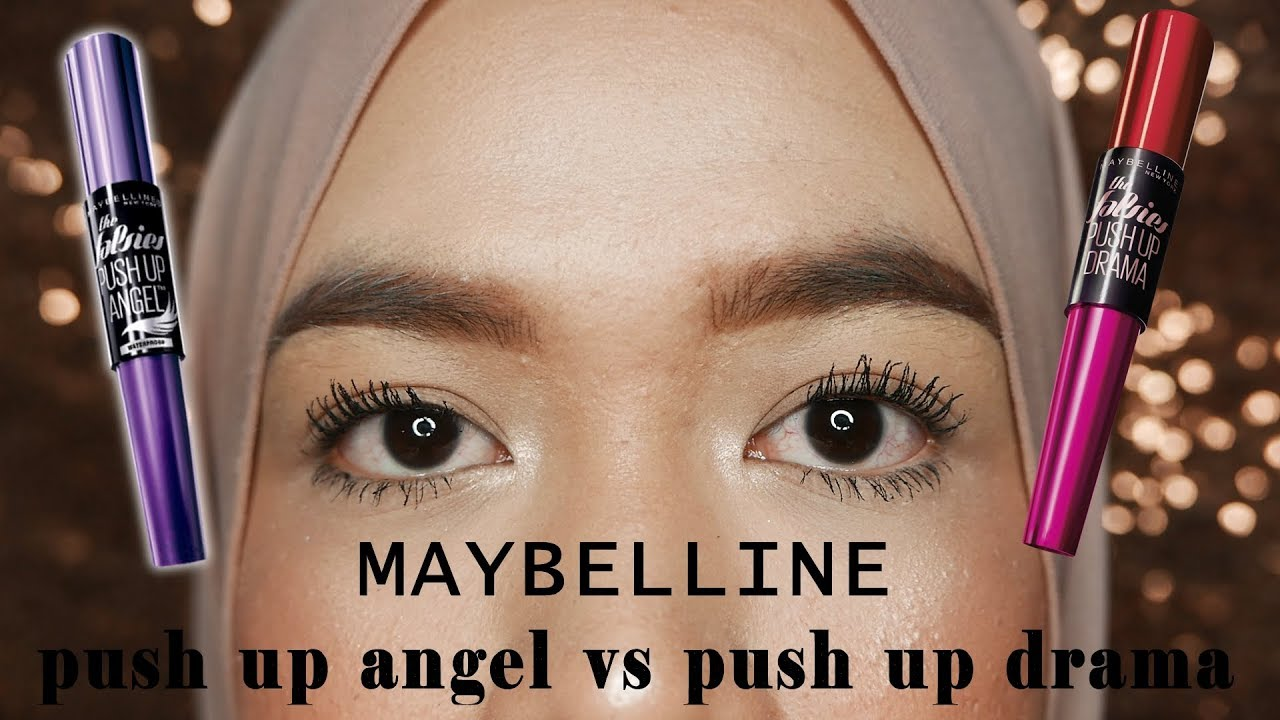 maybelline push up angel mascara review