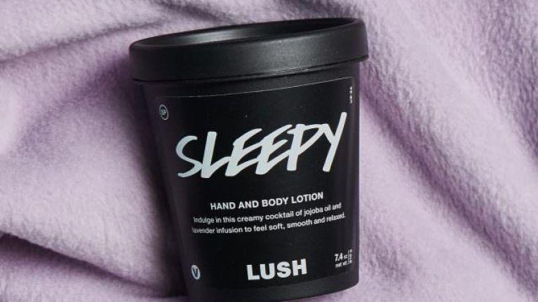 lush sleepy body lotion review