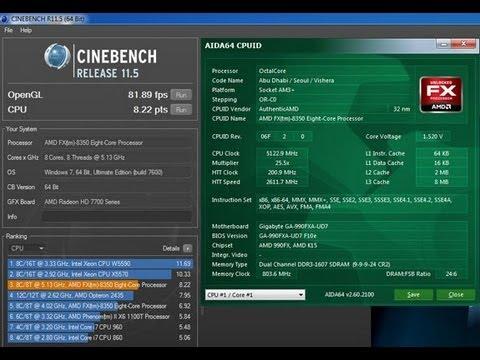amd fx 8350 8 core processor review