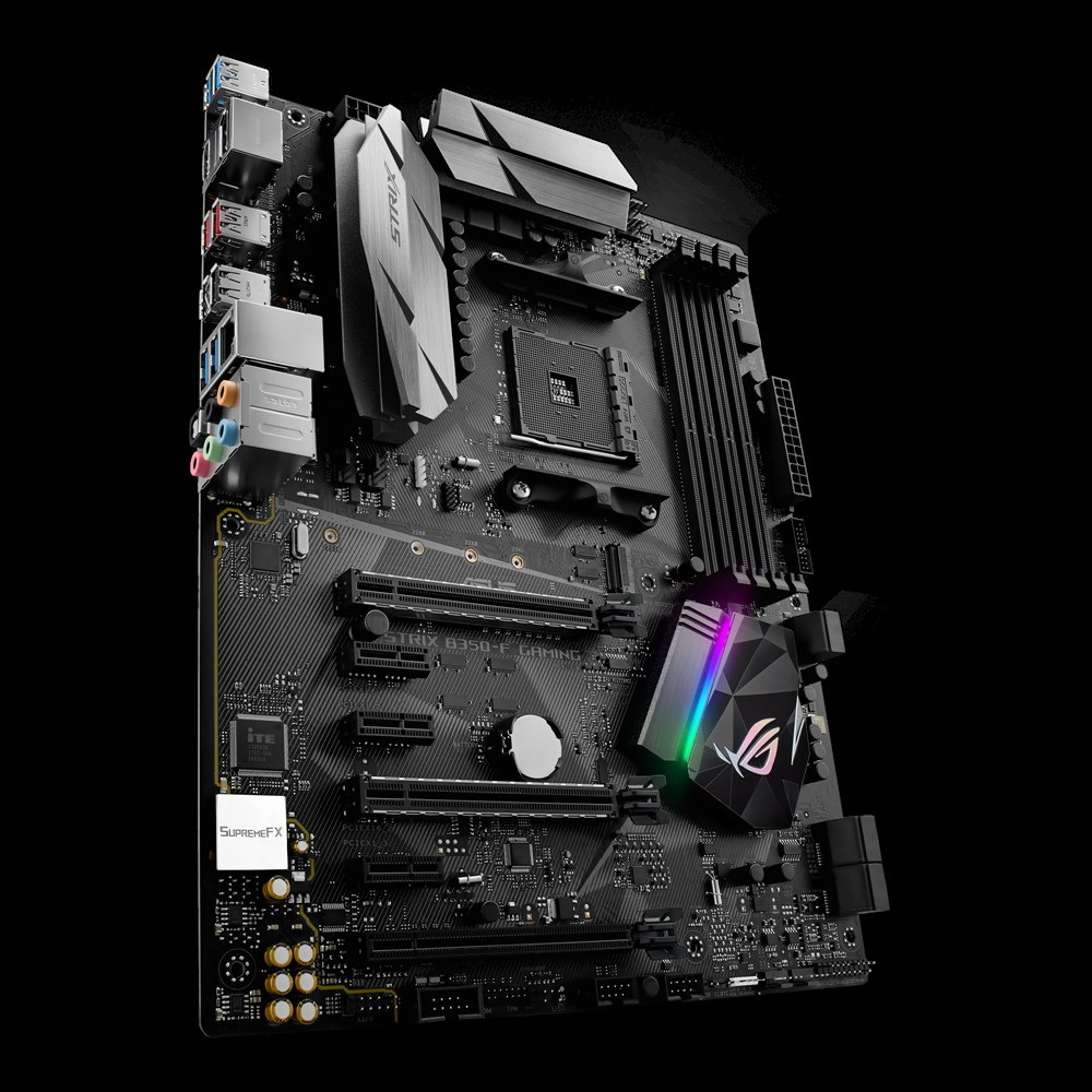 asus strix b350 f gaming atx am4 motherboard review