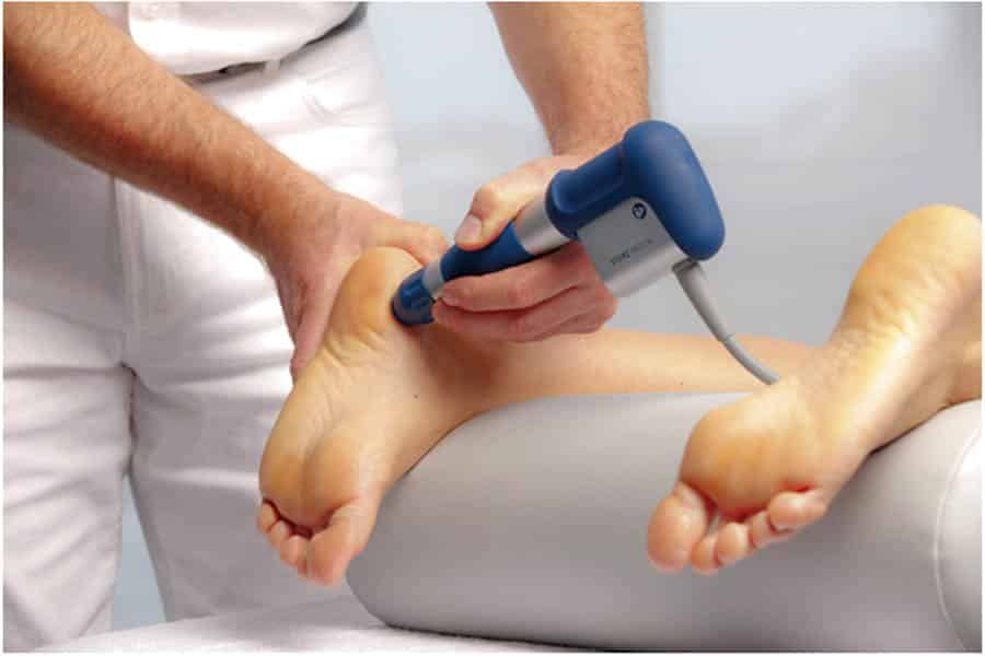 shock wave therapy for heel pain reviews