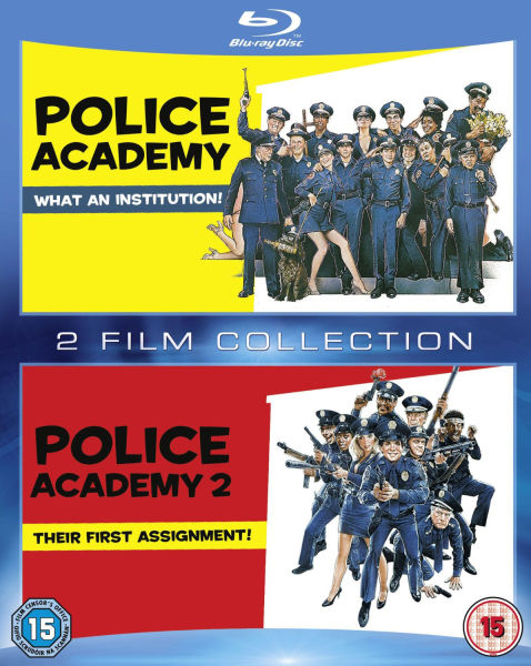 police academy blu ray review