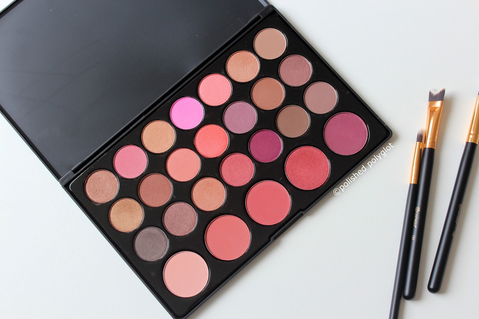 bh cosmetics bubz palette review