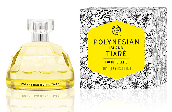 body shop polynesian island tiare review