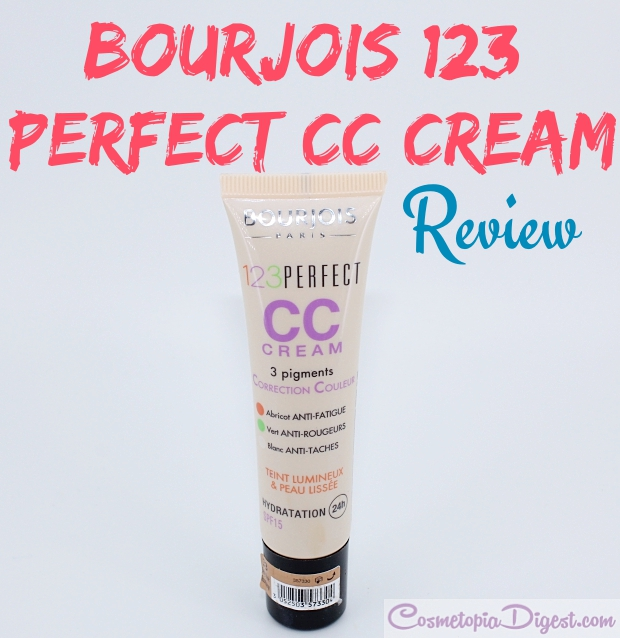 bourjois 1 2 3 perfect foundation review