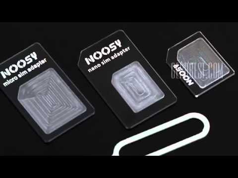 noosy nano sim adapter review