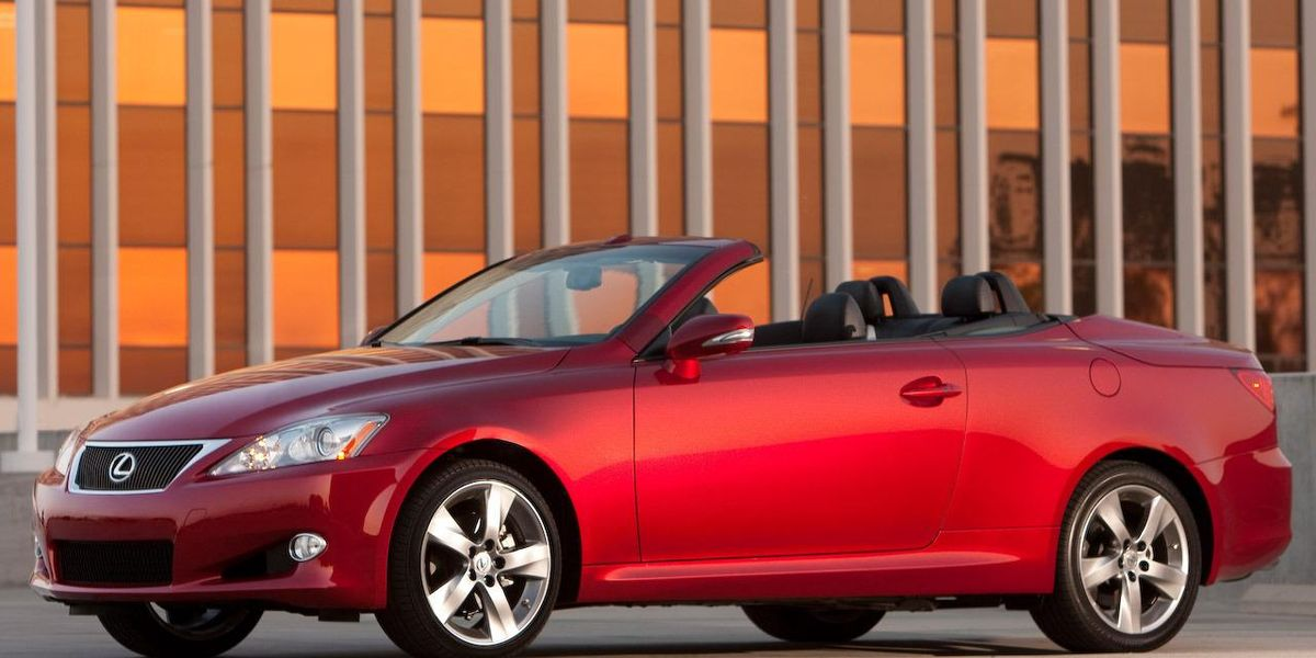 lexus is 250 convertible review