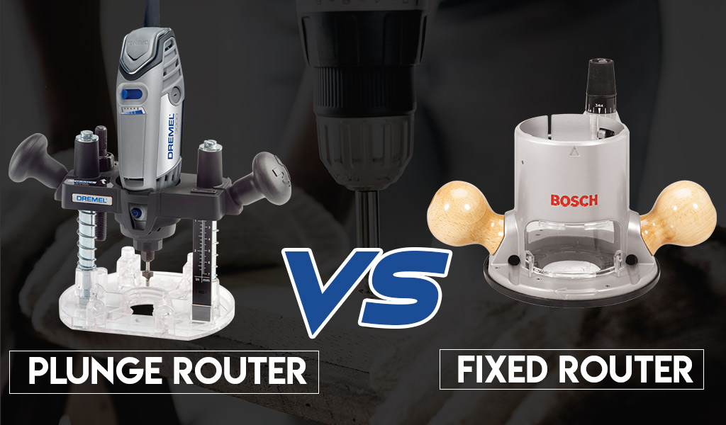 maximum fixed plunge router review