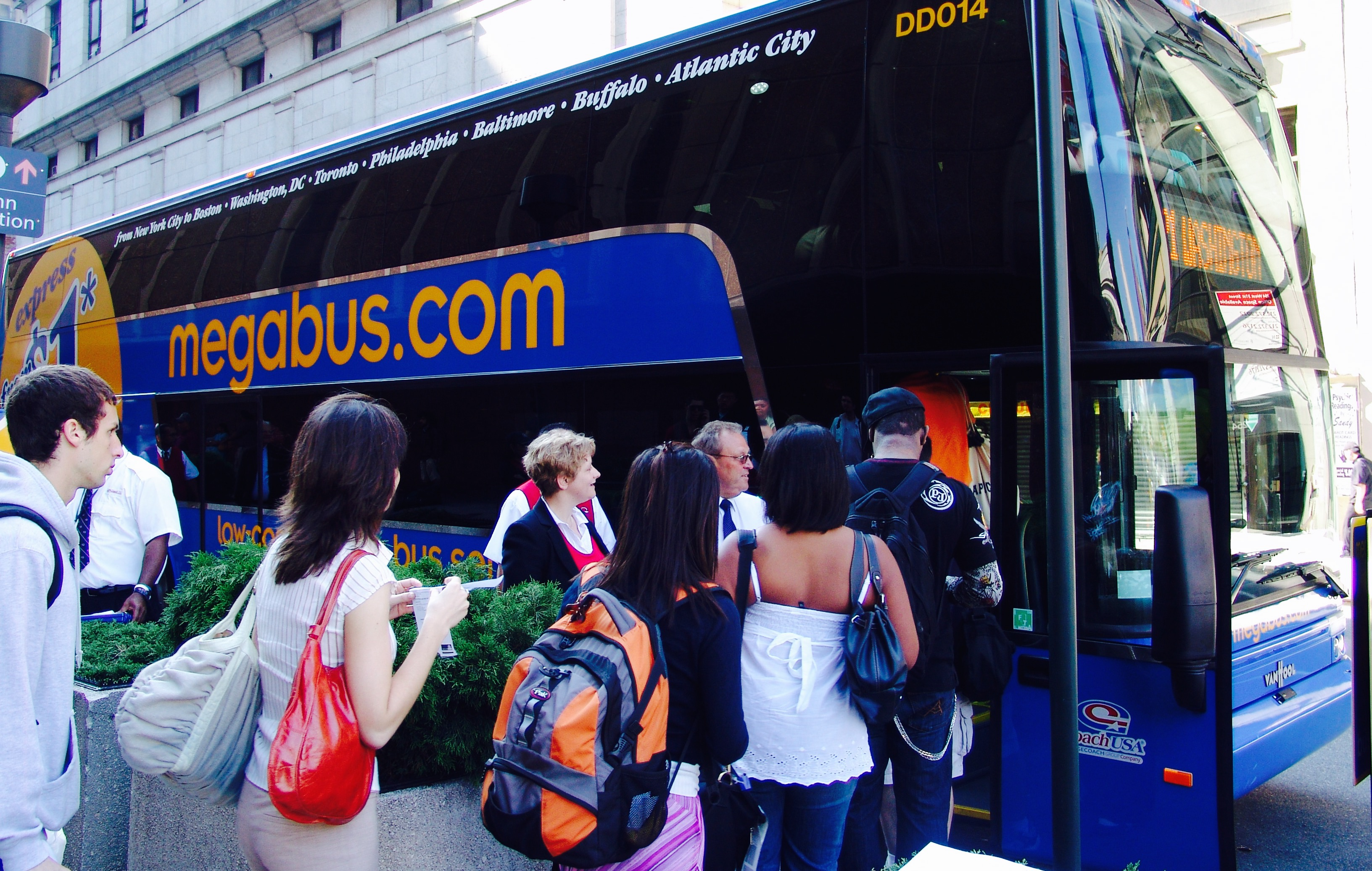 megabus dc to nyc reviews