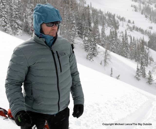 mountain hardwear stretch down review