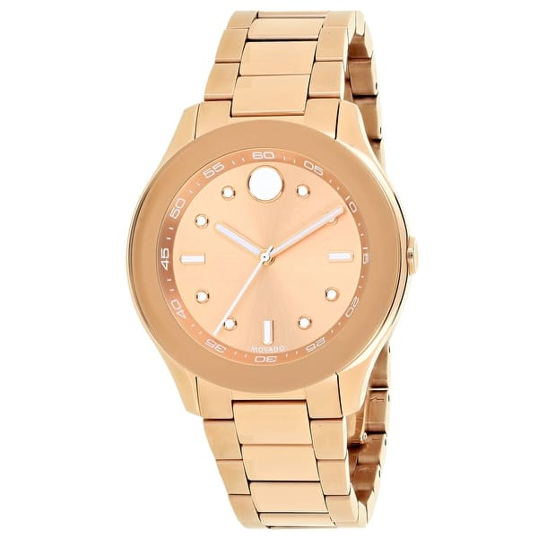movado bold rose gold review