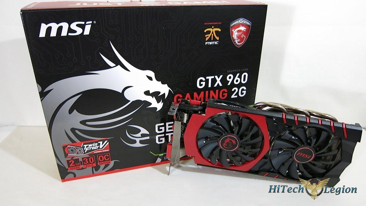 msi gtx 960 2gb review