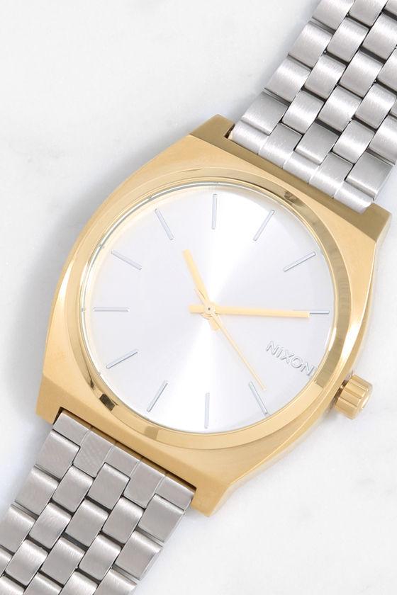 nixon time teller gold review