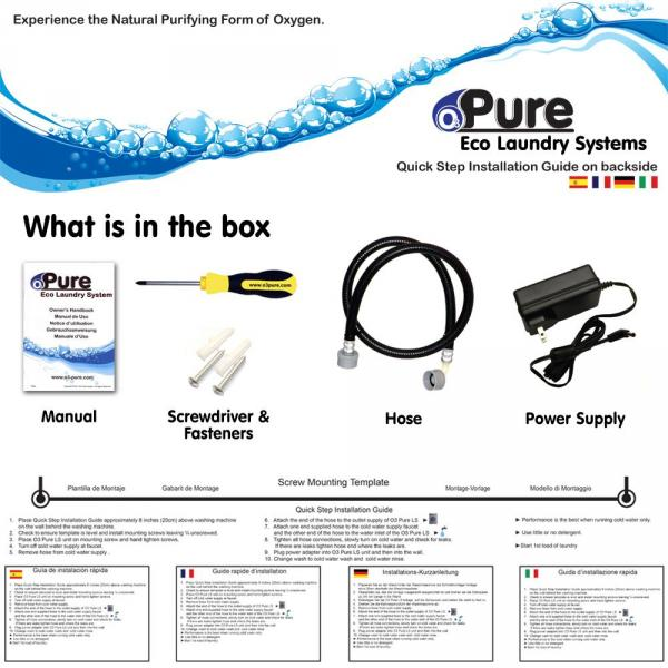 o3 pure eco laundry system review