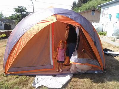 ozark trail 8 person tunnel tent review