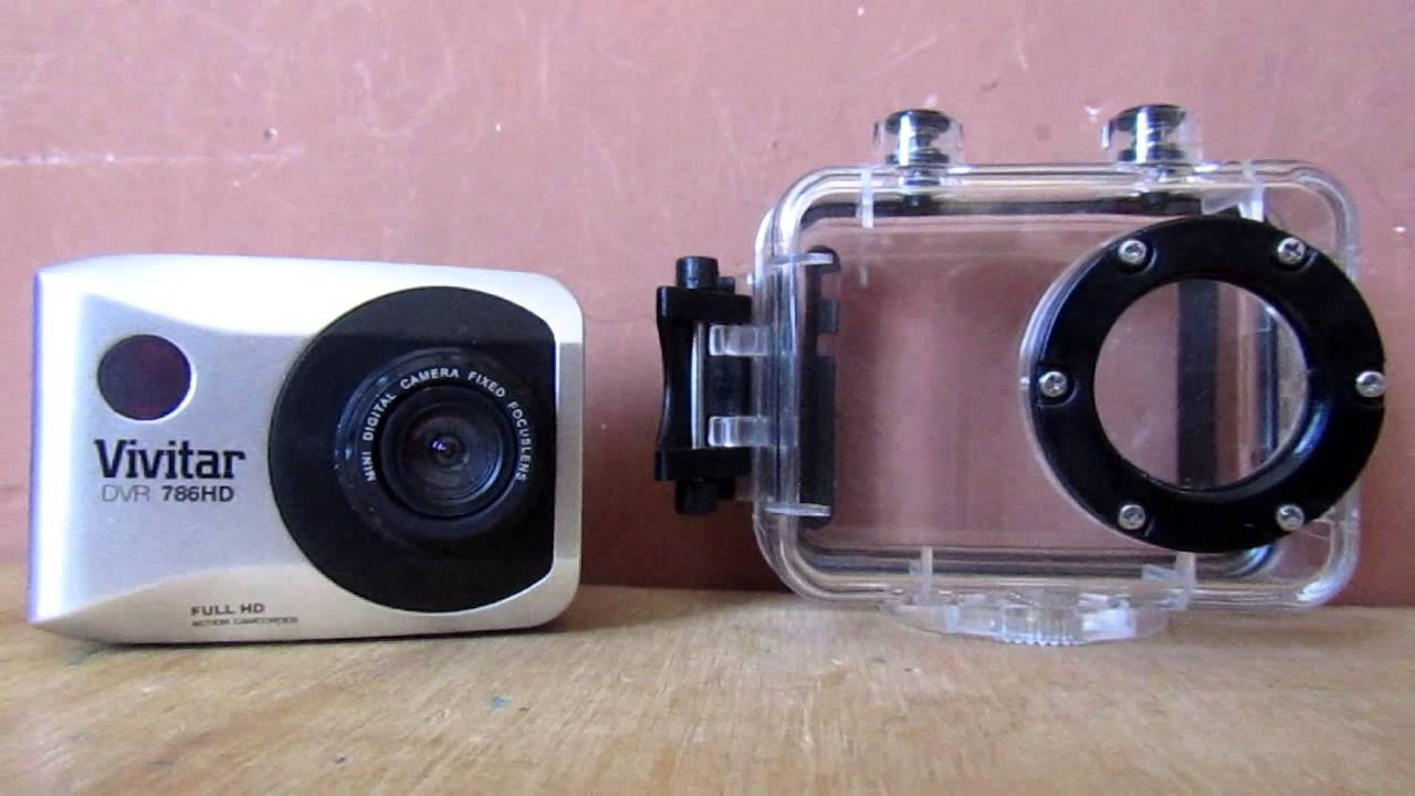 vivitar action camera dvr786hd review
